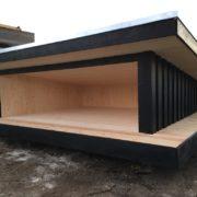 Steen Tømrer skur-shelter 3